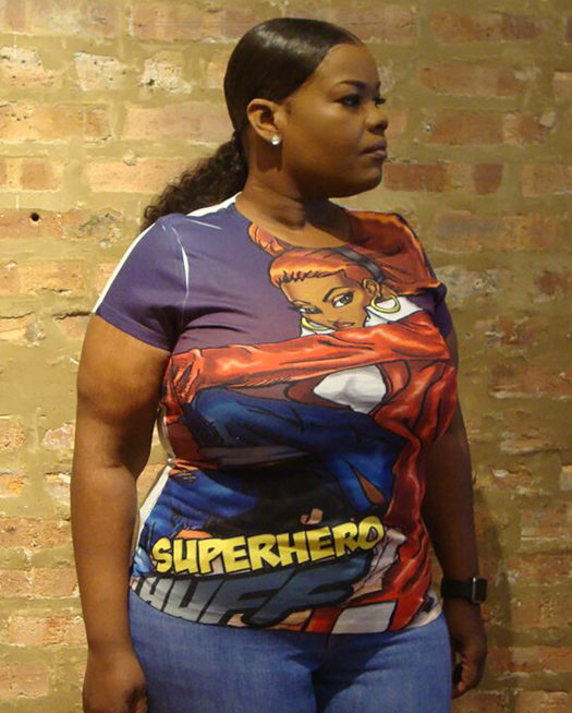 Super Hero Huff Confidence T-Shirt