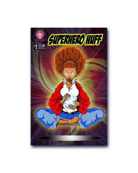 Superhero Huff Comic Book